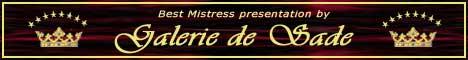 Galerie de Sade – Größtes Werbeportal für Dominas, Sklavinnen & Fetisch Kliniken